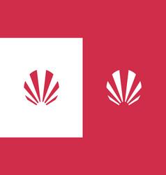 stripe company logo vector image