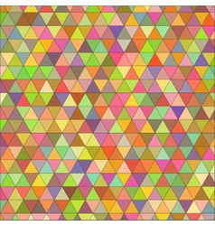 seamless texture of colored triangles vector image vector image