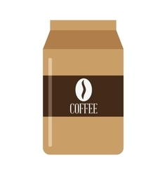 disposable coffee cup icon vector image vector image