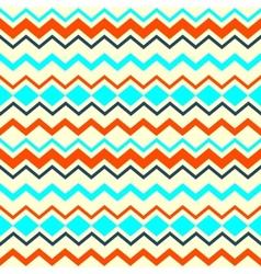 Ethnic tribal zig zag seamless pattern vector