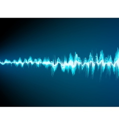 Sound wave abstract background EPS 10 vector image vector image