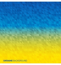 Abstract Background using Ukraine flag colors vector