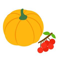 Autumn harvest icon isometric style vector
