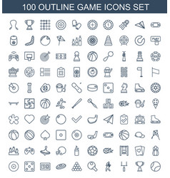 game icons vector image