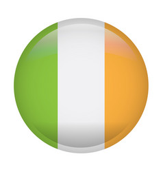 isolated flag of ireland vector image