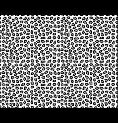 leopard skin print seamless vector image