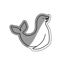 Sealion cartoon animal vector