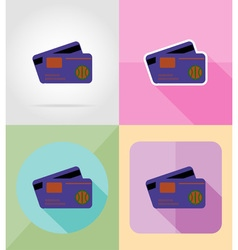 Service flat icons 25 vector