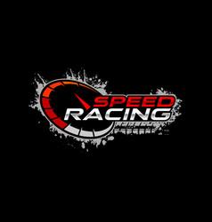 Speed racing logo vector