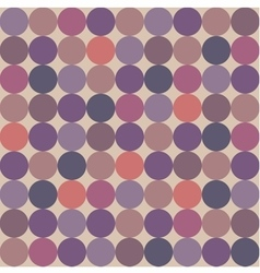 Tile pattern with polka dots on pastel background vector