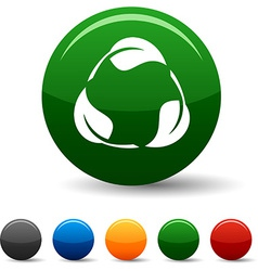 Recycle icons vector