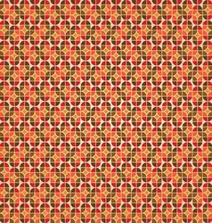 Warm retro background vector image vector image