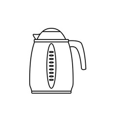 kettle electric pot household appliance vector image