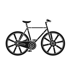 sport bike racing on the track speed bike with vector image vector image