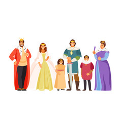 Big royal family vector