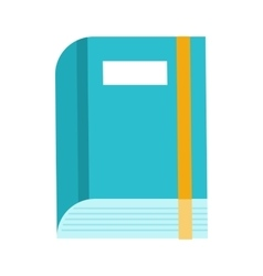 Book Icon in Flat vector