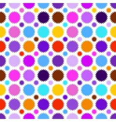 Colorful star seamless pattern vector