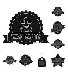 design of emblem and badge symbol set of vector image