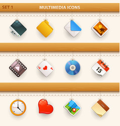 Hung icons - set 1 vector