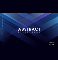 modern abstract blue geometrical background vector image