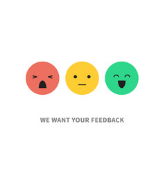 Satisfaction customer concept vector