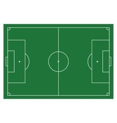 Soccer football field infographics flat app vector