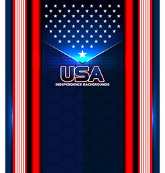 american independence backgrounds vector image vector image