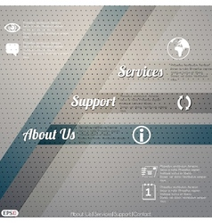 Web layout template vector image vector image