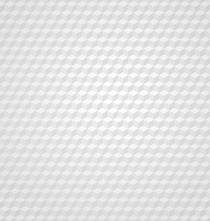 White cube retro background vector image vector image