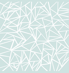 abstract light blue or gray geometric and vector image vector image