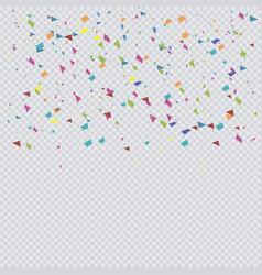 colorful confetti premium vector image