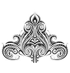 Ethnic ornament design vector