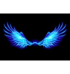 Fair wings Blue vector