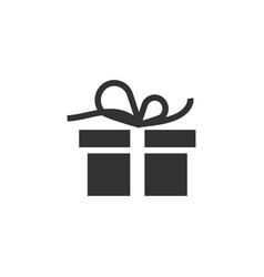 gift box icon design template vector image