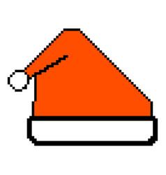 meme santa claus hat bully funny red santa hat vector image
