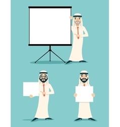 Businessman Advertising Sale Presentation Diagram vector image vector image