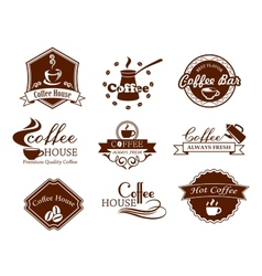 Coffee posters and banners set vector image