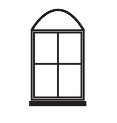 windows icon on white background windows sign vector image