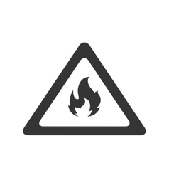 Fire flame sign vector