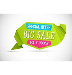 Big Sale Banner vector image vector image