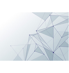 abstract background technology style white low vector image