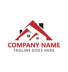 Building real estate logo vector