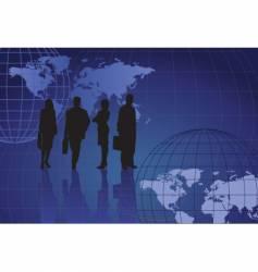 business figures vector image