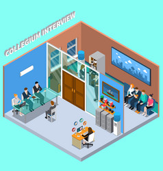 Recruitment hiring hr management composition vector