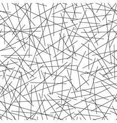 Seamless pattern of random lines vector