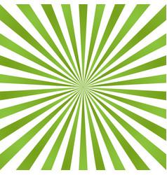 Sun rays background green radiate sun beam burst vector