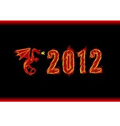 Year 2012 vector