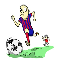 Soccer day vector