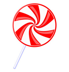 colorful cartoon lollipop vector image