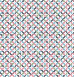 Delicate geometric pattern vector